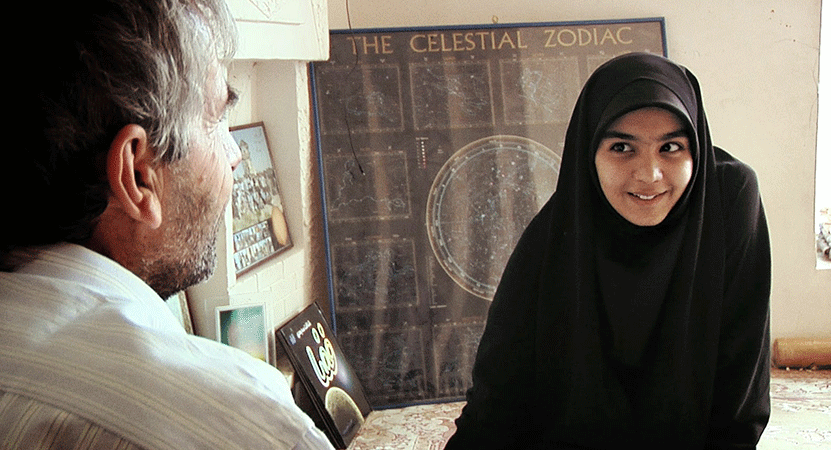 Still image for Science for Human Flourishing: The Lives of Iranian Women Maryam Mirzakhani and Sepideh Hooshyar.