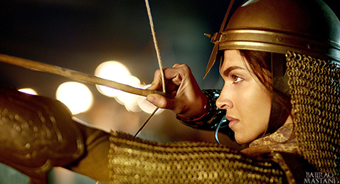Still image from Bajirao Mastani.