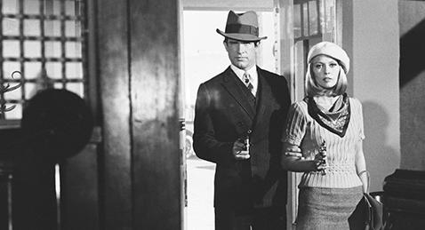 Still image from Bonnie and Clyde.