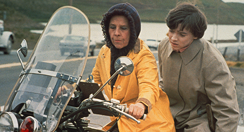 Still image from Harold and Maude.