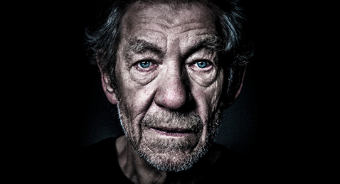 Still image of Ian McKellen from the National Theatre production of King Lear.