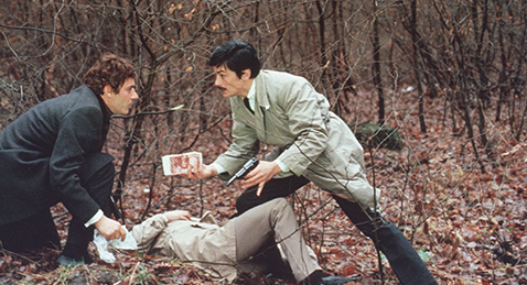 Still image from Le Cercle Rouge.