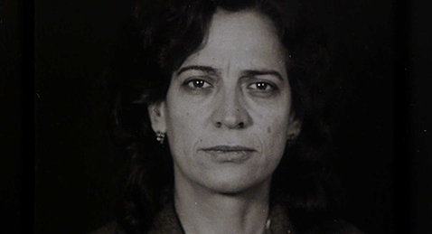 Still image of a women from the film Luz Obscura.