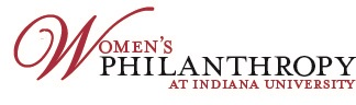 Women's Philanthropy at Indiana University Logo.