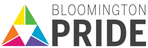 Bloomington Pride Logo.