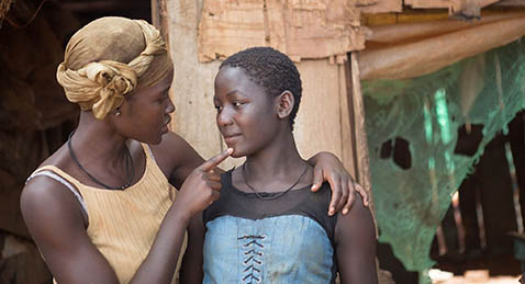 Still image from Queen of Katwe.