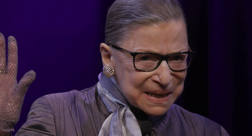 Still image from RBG.