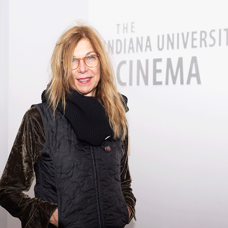 Sara Driver at IU Cinema