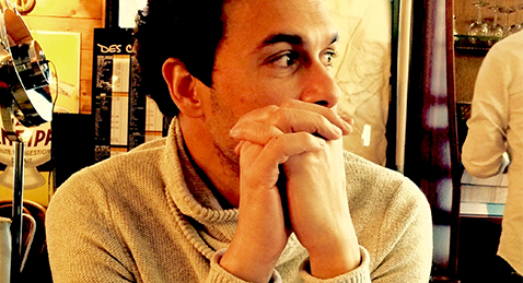 image of the director Tamer El Said.