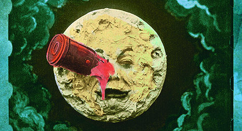 Still image from A Trip to the Moon.