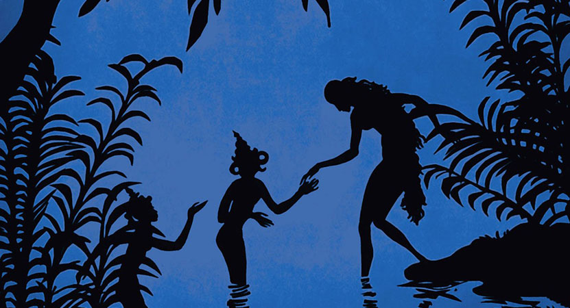 Still image from The Adventures of Prince Achmed.