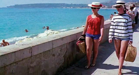 Still image from Agnès Varda Shorts.