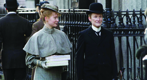 Still image from Albert Nobbs.
