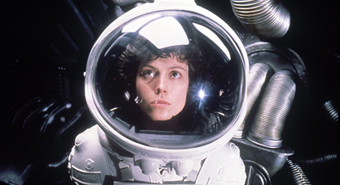 Still image from Alien.