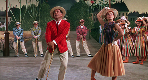 Still image from An American in Paris.