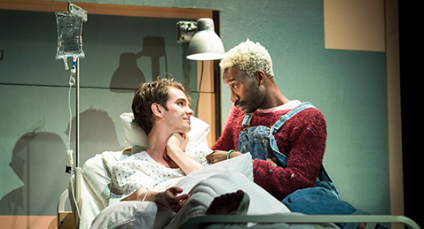 Still image from Angels In America: Part One, Millennium Approaches.