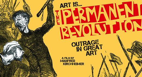 Still image from Art is the Permanent Revolution.
