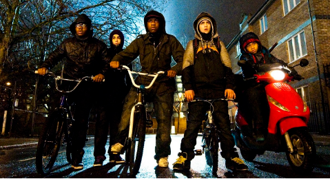 Still image from Attack the Block.