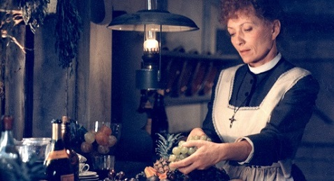 Still image from Babette's Feast.