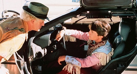Still image from Back to the Future Part III.