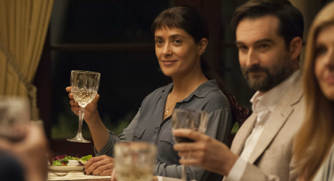 Still image from Beatriz at Dinner.