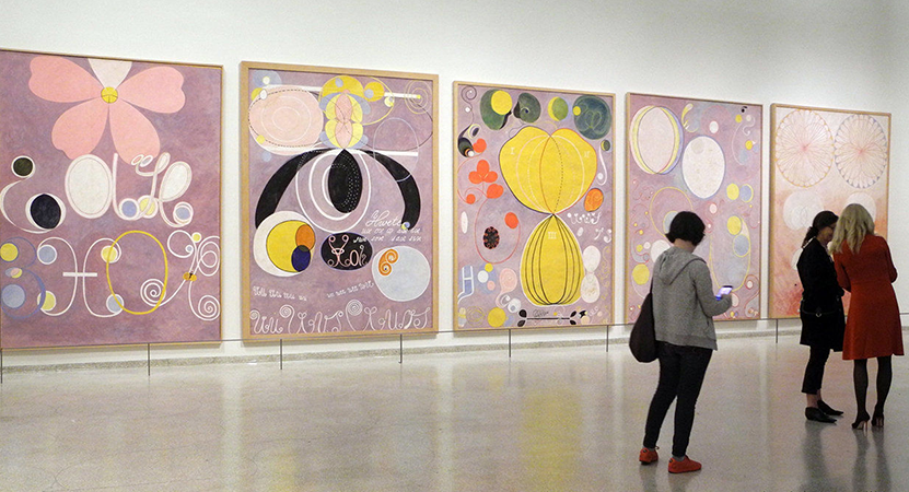 Still image from Beyond the Visible: Hilma af Klint.