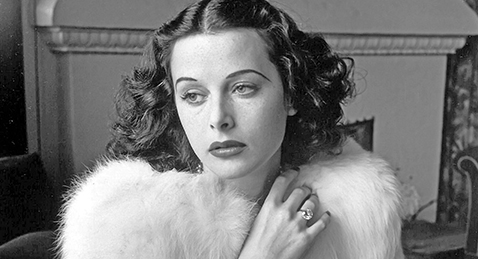 Still image from Bombshell: The Hedy Lamarr Story.