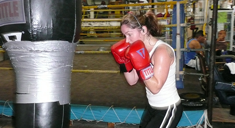 Still image from Boxing Gym.
