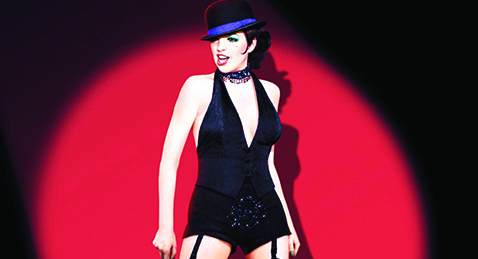 Still image from Cabaret.
