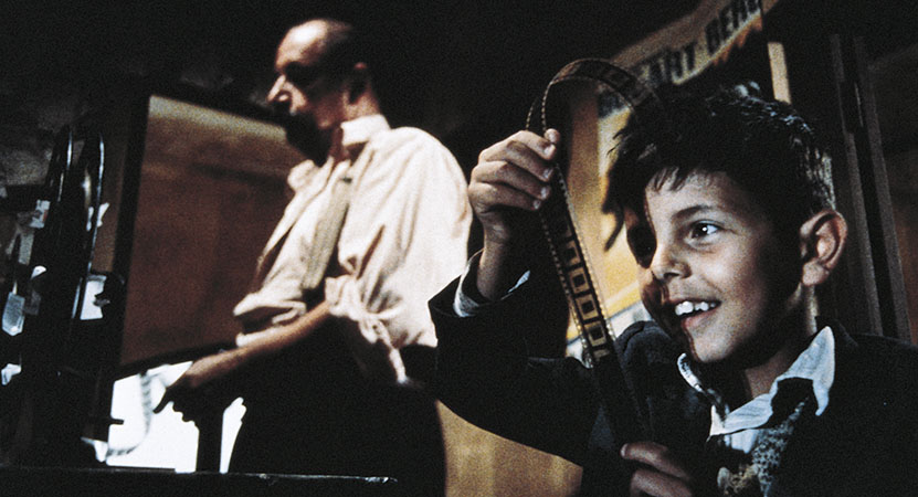 Still image from Cinema Paradiso.