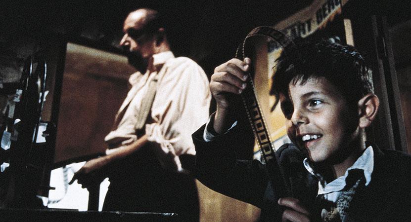 Still image from Cinema Paradiso.