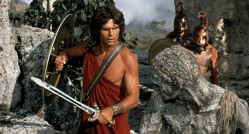 Still image from Clash of the Titans.