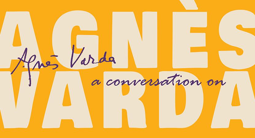 Still image from A Conversation on Agnès Varda.