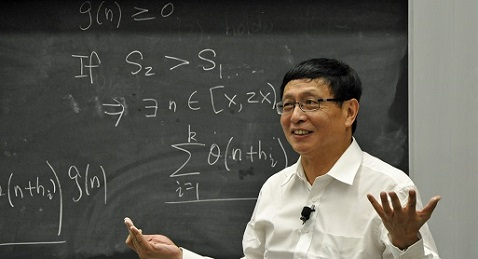 Still image from Counting from Infinity: Yitang Zhang and the Twin Prime Conjecture.