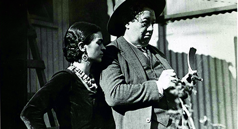 Still image from Diego Rivera: I Paint What I See.