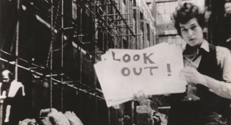Still image from Don't Look Back.