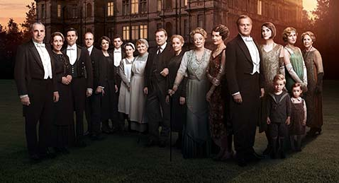 Still image from Downton Abbey Season 6 Preview.