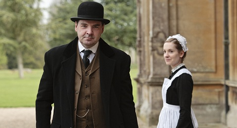 Still image from Downton Abbey.