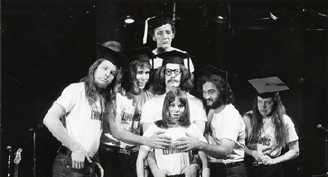 Still image from Drunk Stoned Brilliant Dead: The Story of the National Lampoon.