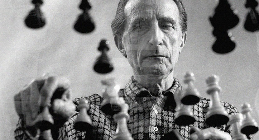 Still image from Marcel Duchamp: The Art of the Possible.
