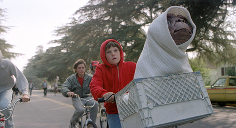 Still image from E.T. The Extra-Terrestrial @ Starlite Drive-In.