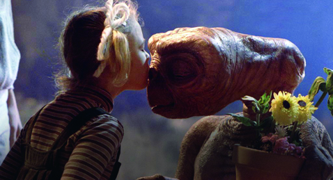 Still image from E.T. the Extra-Terrestrial.