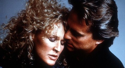 Still image from Fatal Attraction.
