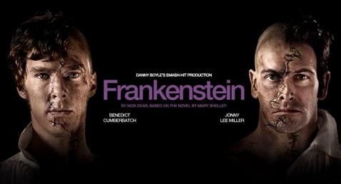 Still image from Frankenstein.