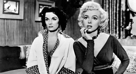 Still image from Gentlemen Prefer Blondes.