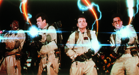 Still image from Ghostbusters.