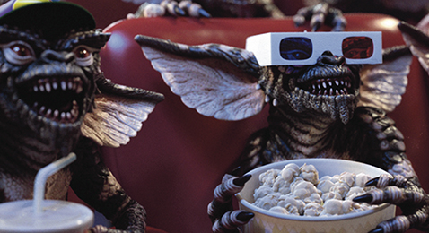 Still image from Gremlins.