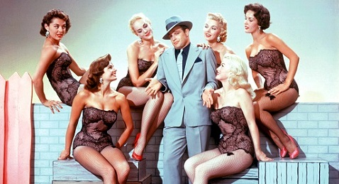 Still image from Guys and Dolls.
