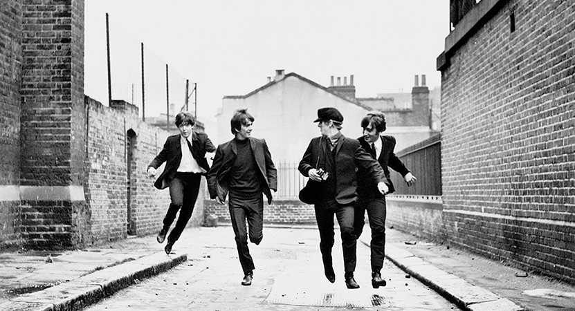 Still image from A Hard Day's Night.