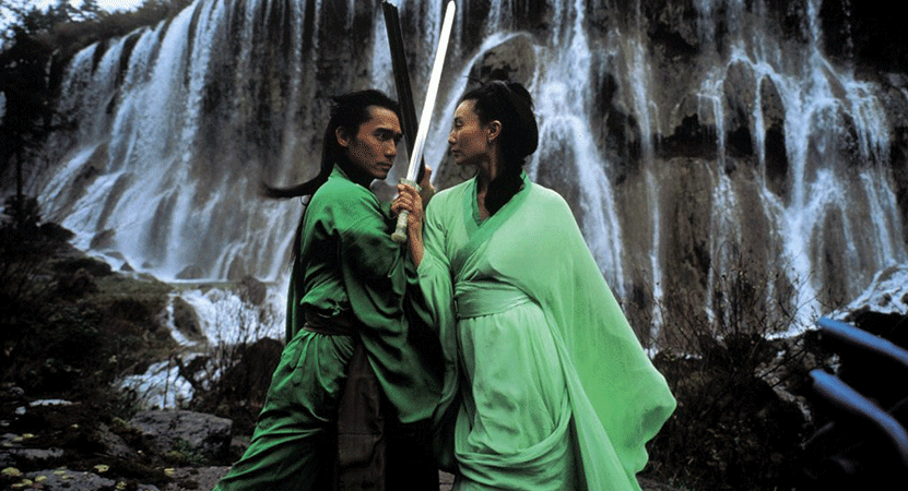 Still image from Ying xiong (Hero).